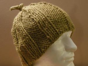 Rib stitch close-up