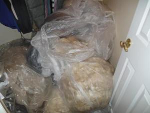 Our fiber closet