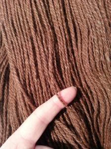 Yarn - Cherry Root Close