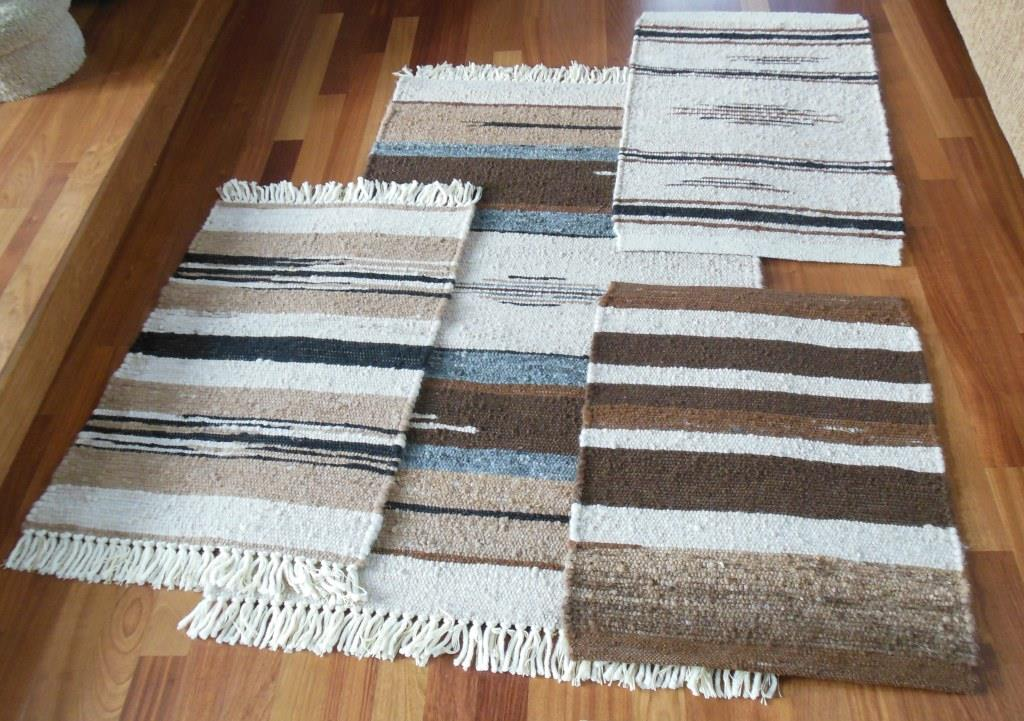 Reinhardt Returned To Us 24 Square Feet Of 100% Alpaca Fiber Wrapped Around  A Jute Core Which Produced 2  3 X 5 Rugs, 11  2 X 3 Rugs And 2  2 X ...