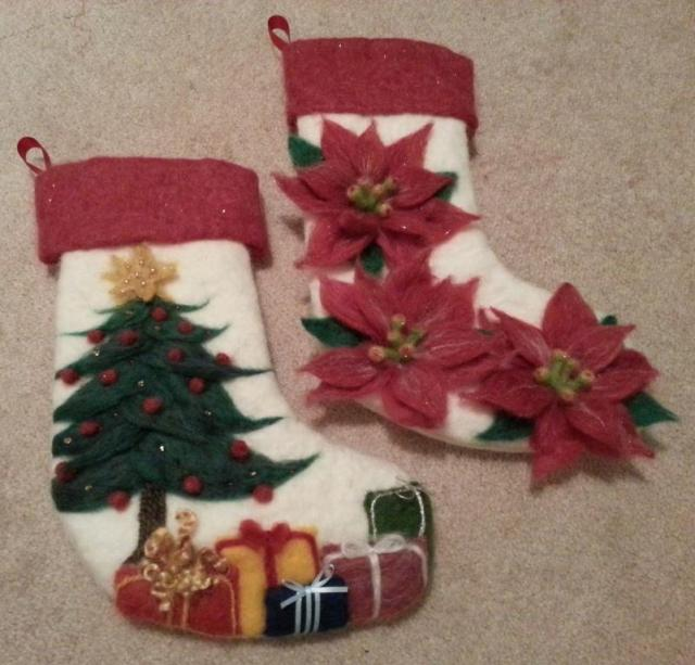 FeltedChristmasStockings