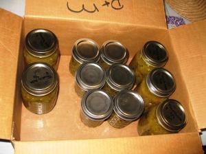 I've already given away four  big jars!