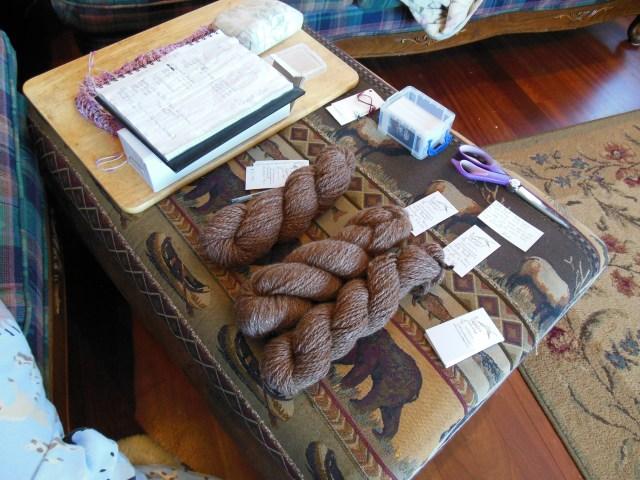 Yarn Inventory Setup