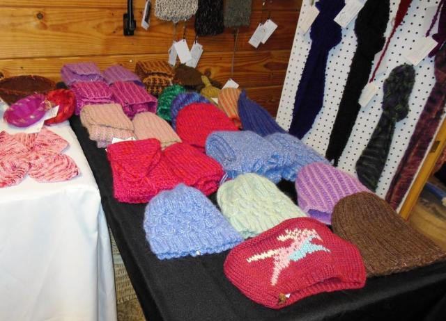 We have a wide selection of hats and hat and scarf sets