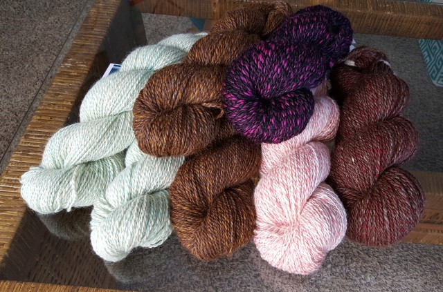 Skeins of yarn for sale